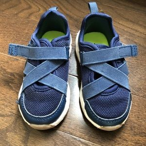 Carters Toddler Velcro Sneaker Navy